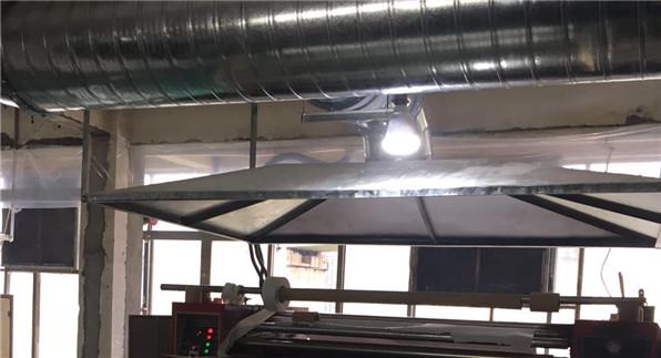 天润布艺厂热转印废气治理
