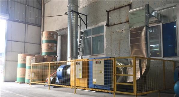 印刷业废气治理设施示例